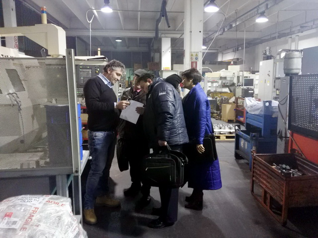 A visit of the Gomel region business community to Milan and Brescia
